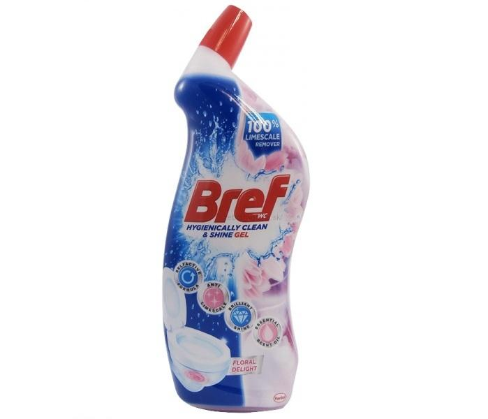 Bref Hygienically clean and shine WC gel Floral Delight