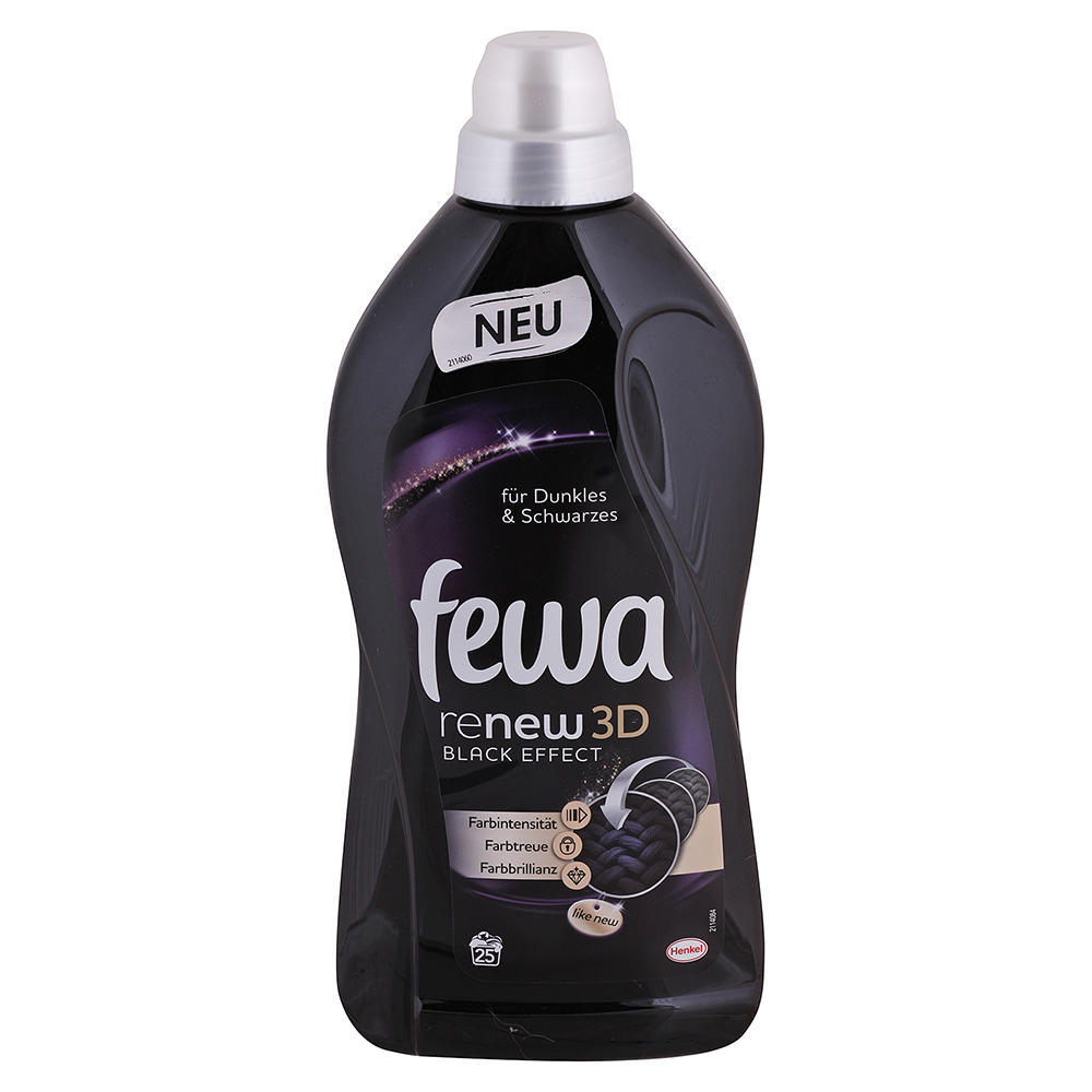 Fewa prací gél Re-New 3D Black 1,5L